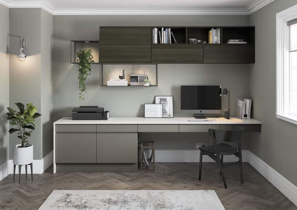 shades of green home office